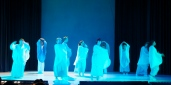 Vier Jahreszeiten Vivaldi Eurythmie blau