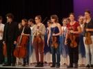 Musiker Eurythmisten Festival Applaus