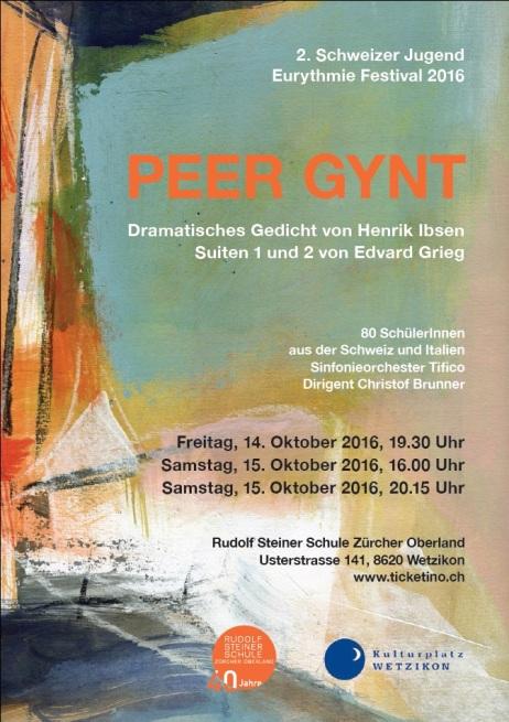 Peer Gynt 2016 Plakat