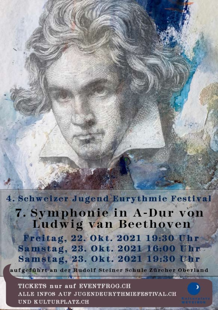 Beethovens 7. Symphonie Plakat